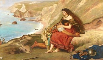 Millais' Romans Leaving Britain